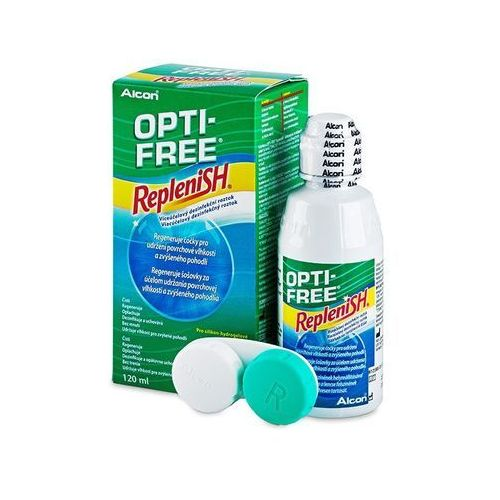 Alcon Płyn opti-free replenish 120 ml