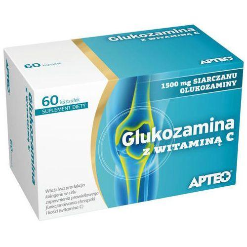 Kapsułki APTEO Glukozamina z witaminą C x 60 kapsułek