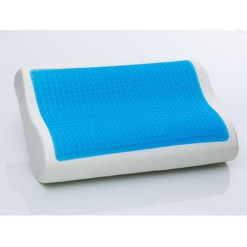 Zelowa poduszka Memory Foam 50x30 cm - piankowa - ortopedyczna - MOCO, produkt marki Beliani