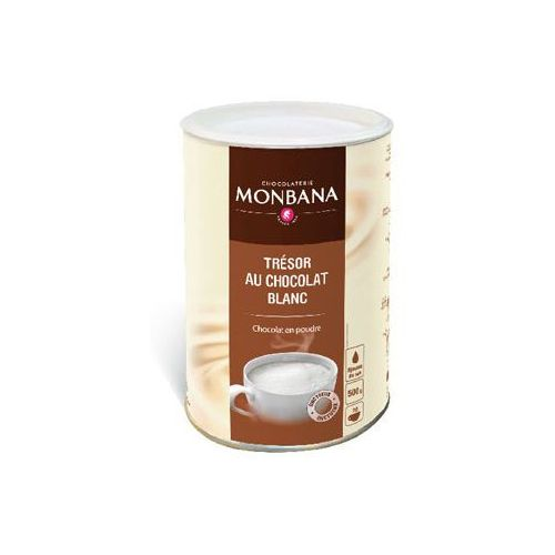 Monbana biała gorąca czekolada, 500 g, CZM001