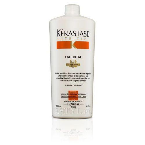 Kerastase Lait Vital - Mleczko proteinowe do włosów lekko suchych, normalnych 1000 ml (3474630565173)
