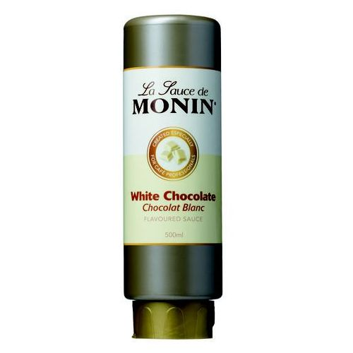 Sos 0,5 l - biała czekolada | MONIN, SC-904004
