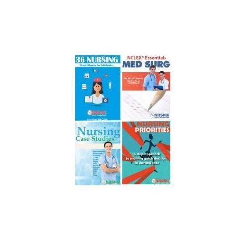 Nursing Student Book Collection (Cheat Sheet, Priorities, Medsurg, Case Studies) (9781518669835)