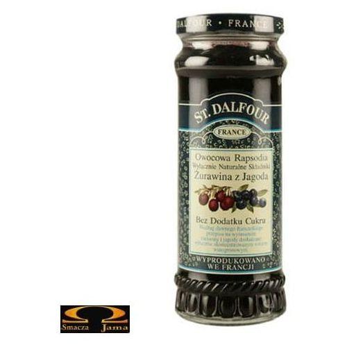 Owocowa Rapsodia St. Dalfour - Żurawina z jagodą 284g, 3100