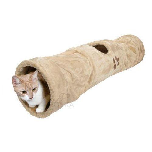 tunel pluszowy dla kota 100/125cm wyprodukowany przez Trixie