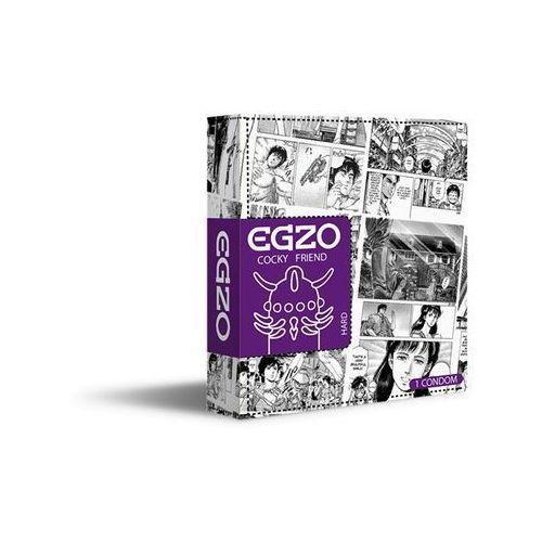 Prezerwatywa z wypustkami EGZO Jolly Roger Kondom 1 szt. 013864