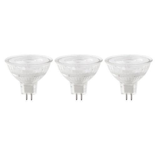 Żarówka LED Diall MR16/GU5.3 4,7 W 345 lm przezroczysta barwa neutralna 3 szt.