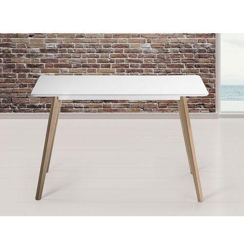 Stół do kuchni, jadalni lub salonu - biały - 120x80 cm - FLY (stół do kuchni i jadalni)