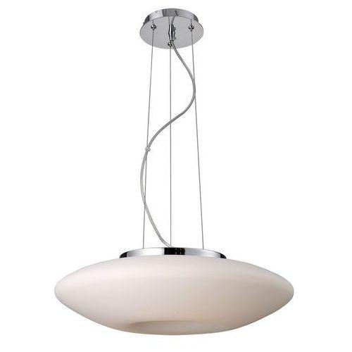 Italux Żyrandol lampa wisząca graham 2937-mp szklana oprawa nowoczesna biała