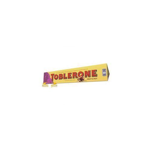 Czekolada toblerone mleczna z rodzynkami marki Kraft foods
