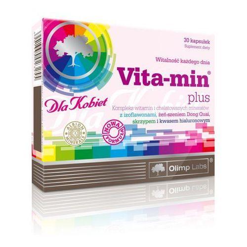 Olimp sport nutrition Witaminy i minerały dla kobiet + kwas hialuronowy vita-min plus 30 kapsułek olimp labs