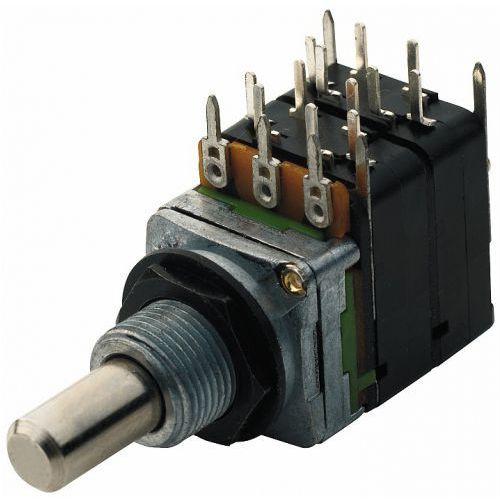 Mec 16 mm potencjometr gitarowy mono b500k - pull-push 4pdt