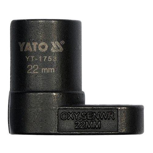 Klucz do sondy lambda 22 mm / YT-1753 / YATO - ZYSKAJ RABAT 30 ZŁ (5906083917530)