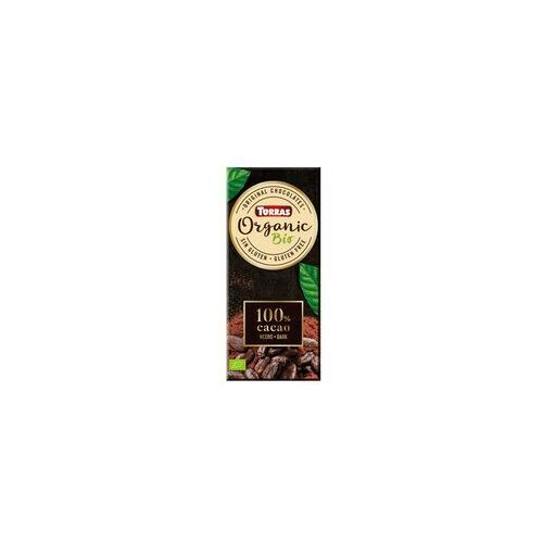 Czekolada gorzka 100% kakao bez dodatku cukru BIO 100g TORRAS (8410342005861)