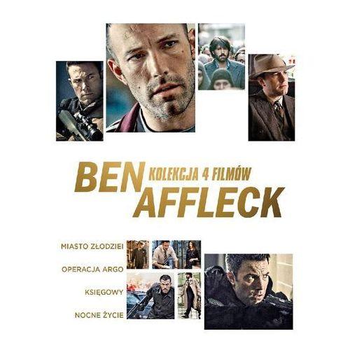 BEN AFFLECK KOLEKCJA 4 FILMÓW (4DVD) (MIASTO ZŁODZIEI, ARGO, NOCNE ŻYCIE, KSIĘGOWY) (Płyta DVD)