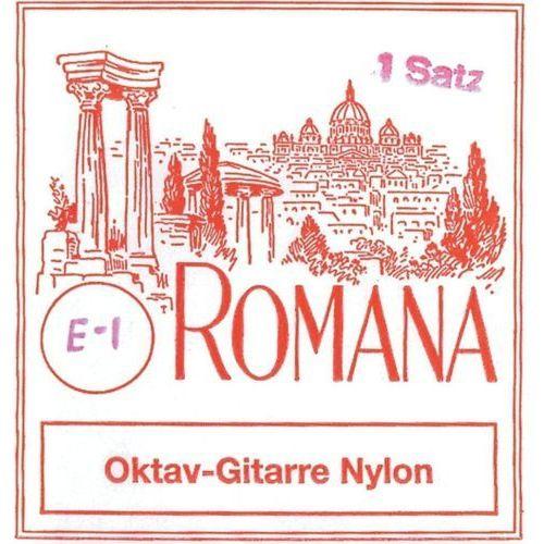 Romana (659227) struny do gitary oktawowej - komplet nylon