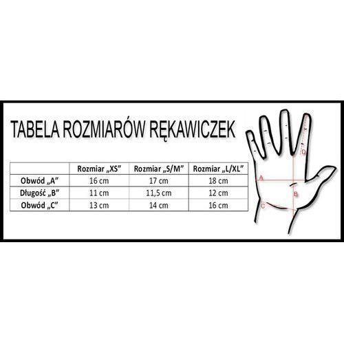 Rękawiczki dziecięce Accent Daisy biało-różowe L/XL (5902175632954)