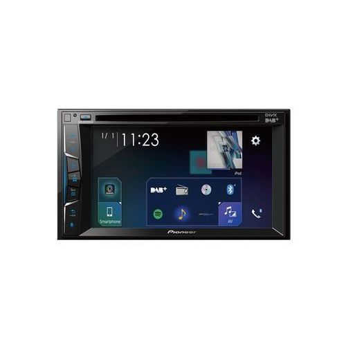 Pioneer AVH-A3100DAB - DVD receiver - display 6.2 in - in-dash unit - Double-DIN - Wyswietlacz LCD Wyswietlacz LCD