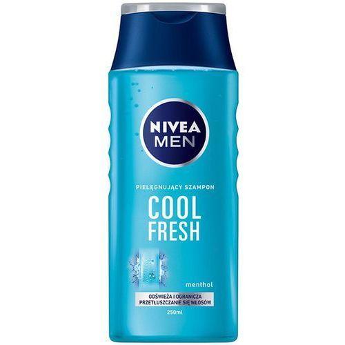 Nivea Men Cool szampon do włosów normalnych i przetłuszczających się (Cool Fresh) 250 ml (4005808255986)