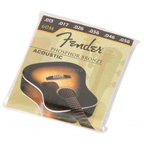 Fender 60m pb struny do gitary akustycznej 13-56