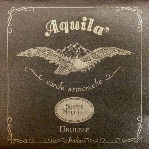 super nylgut - struny do ukulele, baritone, gcea, high g marki Aquila