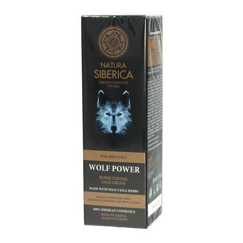 Natura Siberica – krem tonizujący do twarzy dla mężczyzn Wolf Power, NSM7