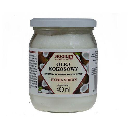 Olej kokosowy tłoczony na zimno BIQOIL 450ml 1 szt., OLKO4