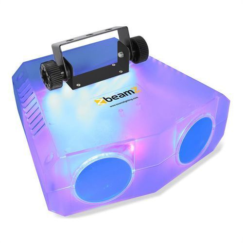 beamZ Nomia Clear Podwójny efekt świetlny Moonflower 114 diod LED RGBAW pilot na podczerwień