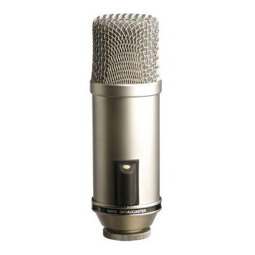 """Rode broadcaster - mikrofon pojemnościowy -5% na pierwsze zakupy z kodem """"start""""!"""
