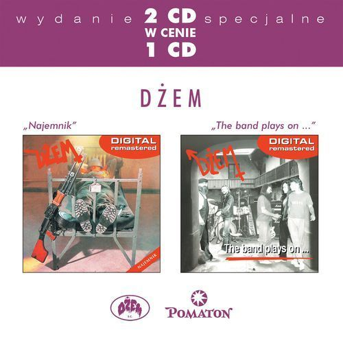 DŻEM - NAJEMNIK/THE BAND PLAYS ON... - Album 2 płytowy (CD) (0724359385426)