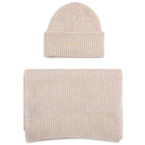 Tommy hilfiger Zestaw szalik i czapka - effortess scarf & beanie gp aw0aw07200 aek