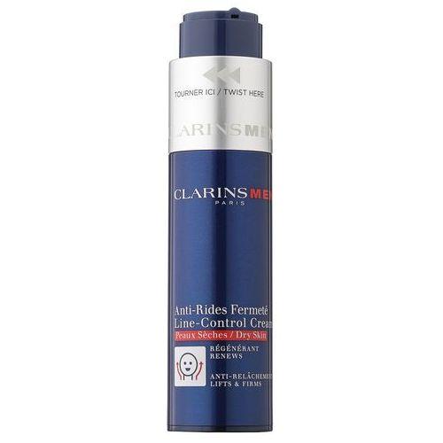 Clarins Men Age Control krem przeciw zmarszczkom do skóry suchej (Line Control Cream) 50 ml (3380810040265)