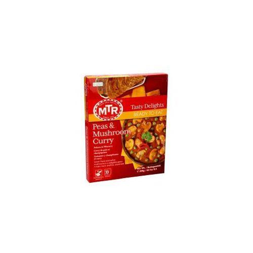 Peas & Mushroom Curry (Curry z groszku i peczarek)