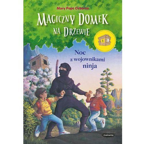 Magiczny domek na drzewie Noc z wojownikami ninja - Dostawa 0 zł, Mamania