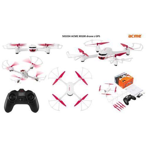 Dron ACME X9100 z kamerą 720p i GPSem, 501034