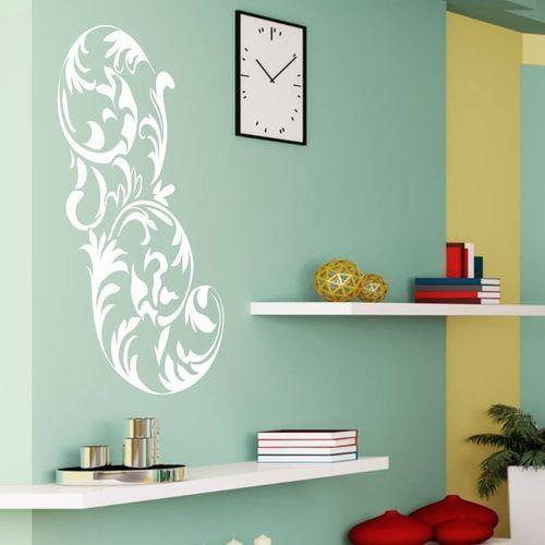 Wally - piękno dekoracji Naklejka ścienna floral 2065