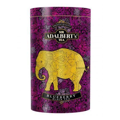 Sir adalbert's blueberry black tea liściasta puszka marki Sir adalbert's tea
