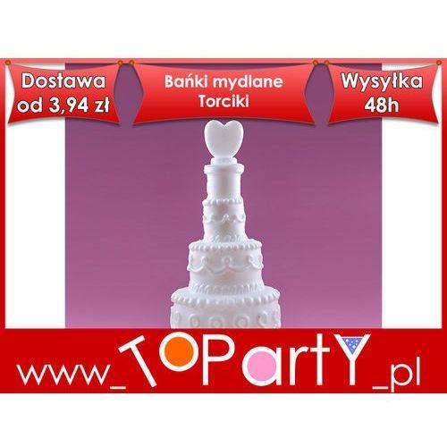 Bańki mydlane Torciki, 1op, 24 szt, Wesele od toparty.pl