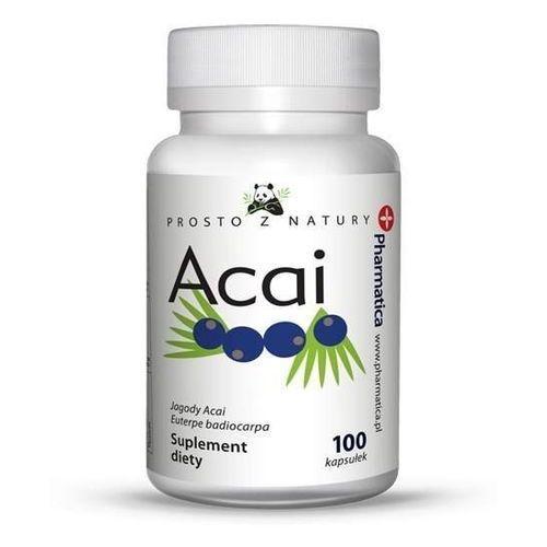 Aura Herbals Acai Berry - prosto z natury 100 kapsułek - Suplement Diety (5902768597134)