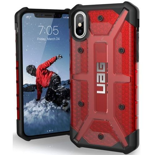 Etui urban armor gear iphx-l-mg do iphone x czerwony marki Uag