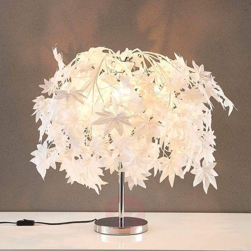 Czarująca lampa stołowa Maple z lasem liściastym