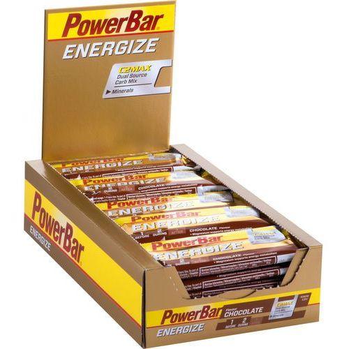 Powerbar energize żywność dla sportowców chocolate 25 x 55g 2018 zestawy i multipaki (4029679322103)
