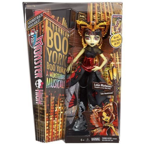 Lalka MATTEL Monster High Gwiazdy Boo Yorku Luna Moth + DARMOWA DOSTAWA! od ELECTRO.pl