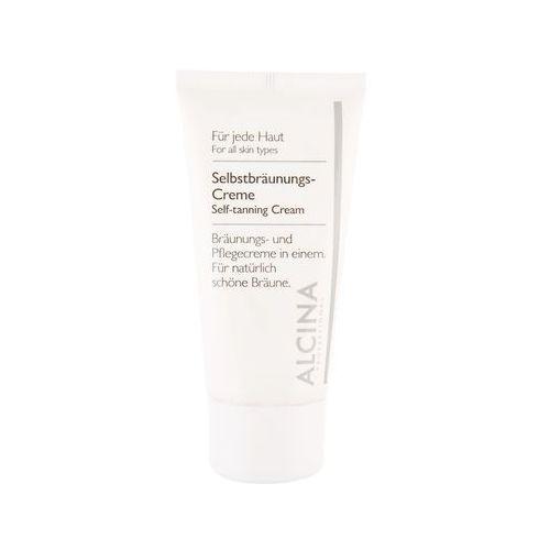 for all skin types samoopalający krem do twarzy (bronzing and nourishing cream) 50 ml marki Alcina
