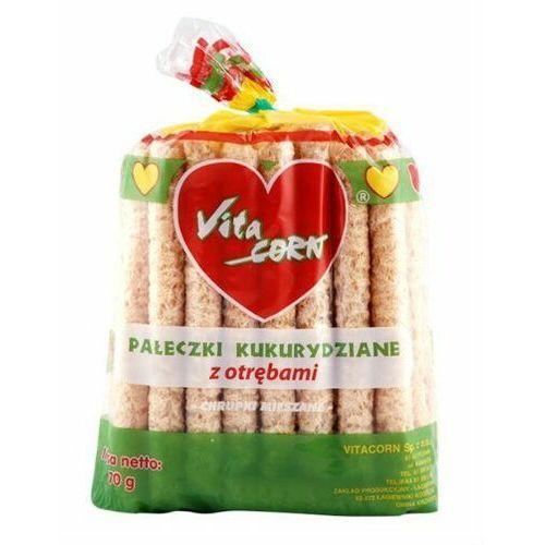 Pałeczki kukurydziane z otrębami 70g - vitacorn marki 114vitacorn