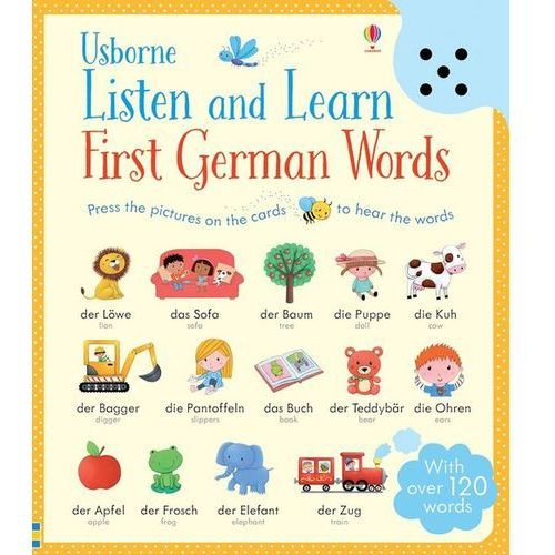 Listen and Learn First German Words (2015)
