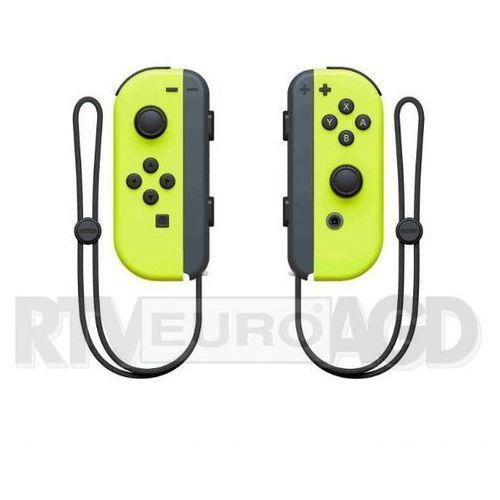 Nintendo Kontroler switch joy-con neon yellow
