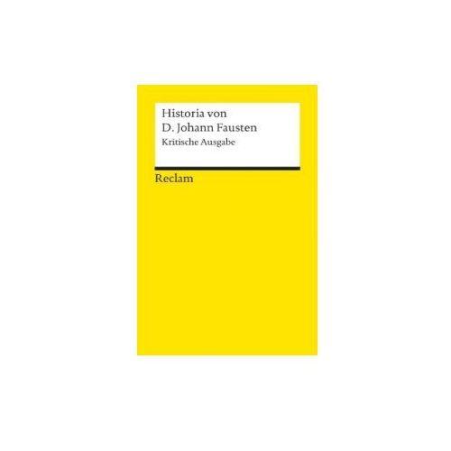 Historia von D. Johann Fausten, Krit. Ausg. Füssel, Stephan