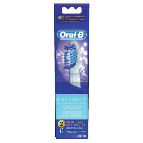 Końcówki do szczoteczki braun pulsonic 2 szt marki Oral-b