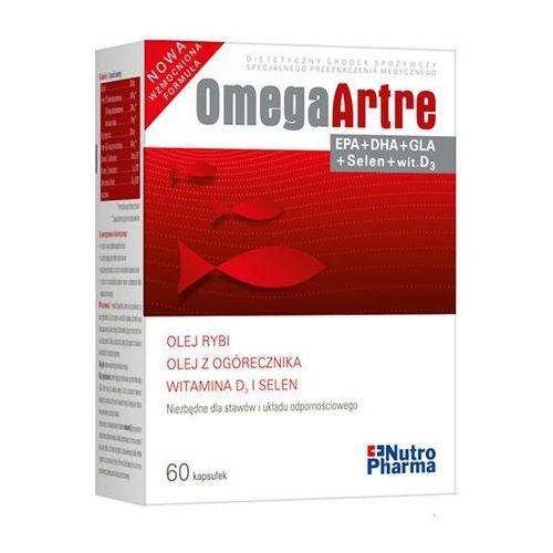 Omega Artre 60 kapsulek - w celu zachowania lepszej sprawności stawów Kurier: 13.75, odbiór osobisty: GRATIS! (5907513003380)